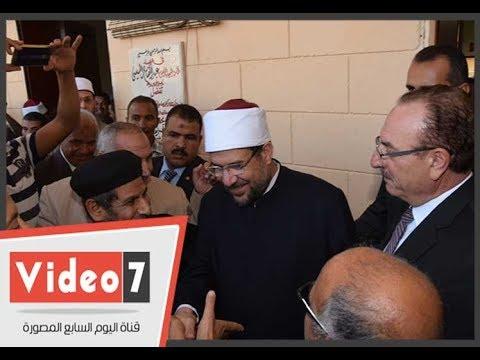 راعى كنيسة شارك فى افتتاح مسجد: مسلمو القرية عرضوا علينا ترميم الكنيسة