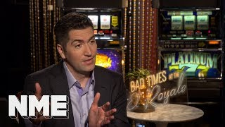 We asked Bad Times at the El Royale's Drew Goddard if he's better than Jean-Luc Godard
