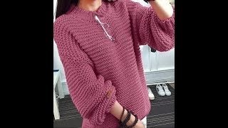 Пуловеры Спицами - зима - 2019 / Knitting pullovers winter