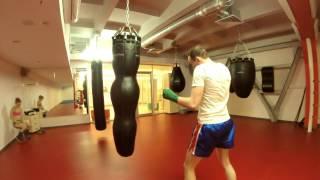Тренировка от крепатуры :)