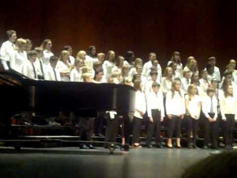 Pilgrim Park Middle School dedication to Sandy Hook - One Voice