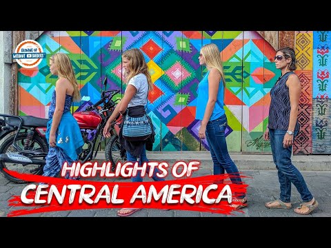 Central America Tour – 🇵🇦, 🇨🇷,🇳🇮,🇭🇳,🇸🇻,🇬🇹 to 🇧🇿 Mexico Border | 90+ Countries, 3 Kids