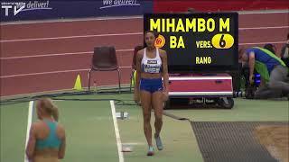 Malaika Mihambo zeigt die besten Sprünge | Hallen-DM 2018 Dortmund