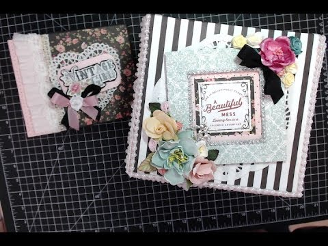 CCC Design Team project featuring Photo Play Vintage Girl paper collection