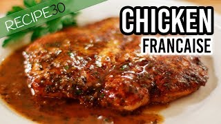 Chicken Francaise Recipe over 200 Million Views