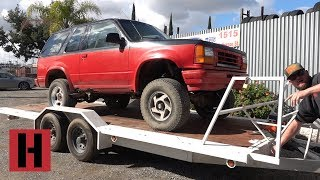 Michael Cox Purchases a Trashed Explorer for Build and Battle