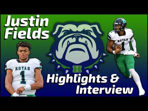 Justin Fields - Harrison Quarterback - Highlights/Interview - Sports Stars of Tomorrow