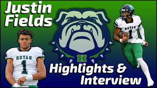 Justin Fields - Harrison Quarterback - Highlights/Interview - Sports Stars of Tomorrow