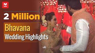 Bhavana Wedding Highlights; Mammootty, Lal, Celebrities Attend Grand Reception