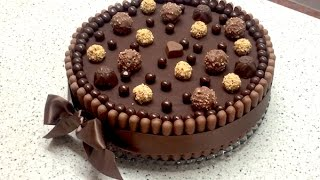 Extra Chocolate Cake / Extra Čokoladna Torta! (ENG.GER.FRA.SUBS.) Grga&Klara Recipes