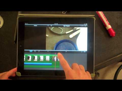 how to make an intro on imovie