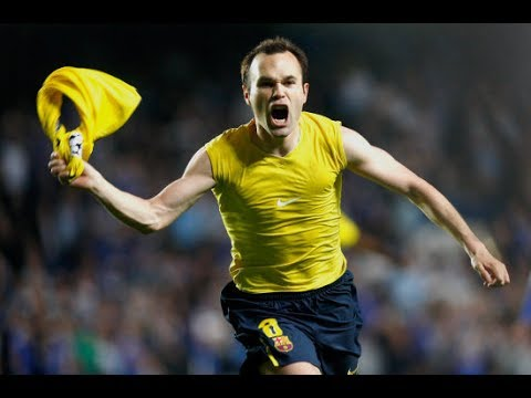 Andres Iniesta ● BEST GOALS in Barcelona (With only Commentary) HD