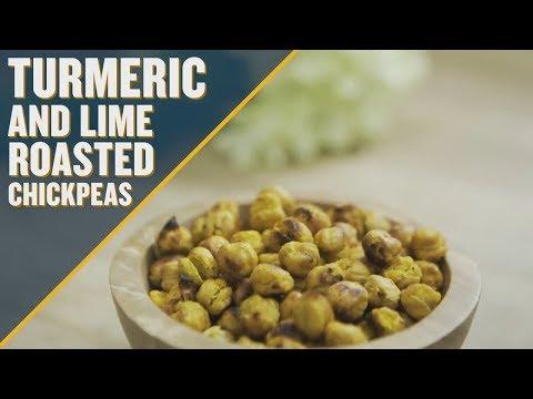 Tasty Turmeric and Lime Roasted Chickpeas Recipe