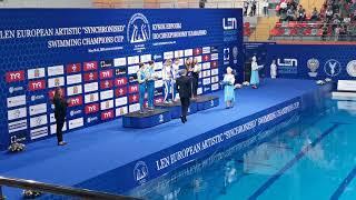 Светлана Ромашина и Светлана Колесниченко завоевали квоту в дуэте на ОИ-2020, выиграв Кубок Европы