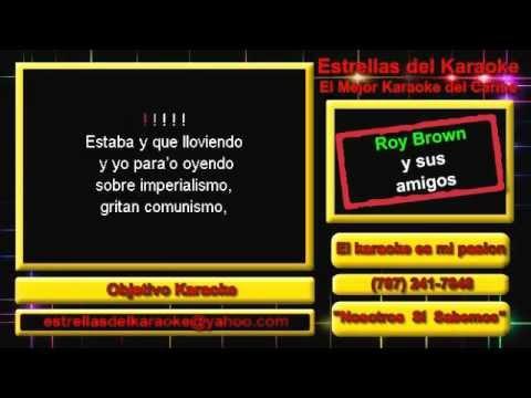 Karaoke Roy Brown - Mister Con Macana