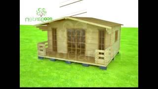 ЭКОГАРДЕН.РФ - Садовый домик с окнами (5х4,5 м.)(Быстро возводимая конструкция домика позволяет в сжатые сроки монтировать жилье собственными силами или..., 2013-02-01T09:51:10.000Z)