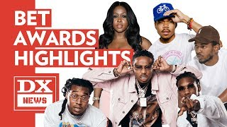 Kendrick Lamar, Remy Ma, Chance The Rapper & Migos Highlight 2017 BET Awards Weekend