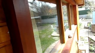 Как сделать деревянные окна со стеклопакетами в гаражных условиях своими руками Домашний столяр
