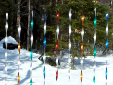 Metal Spiral Wind Spinners