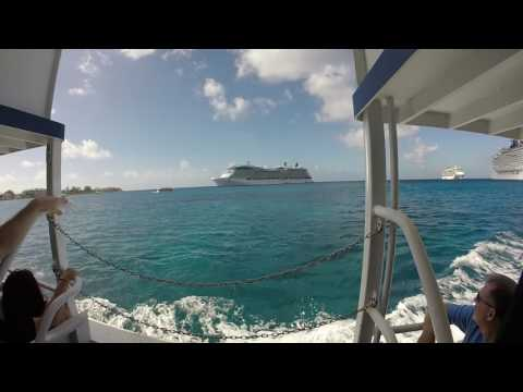Boarding the Tender to Georgetown, Grand Cayman