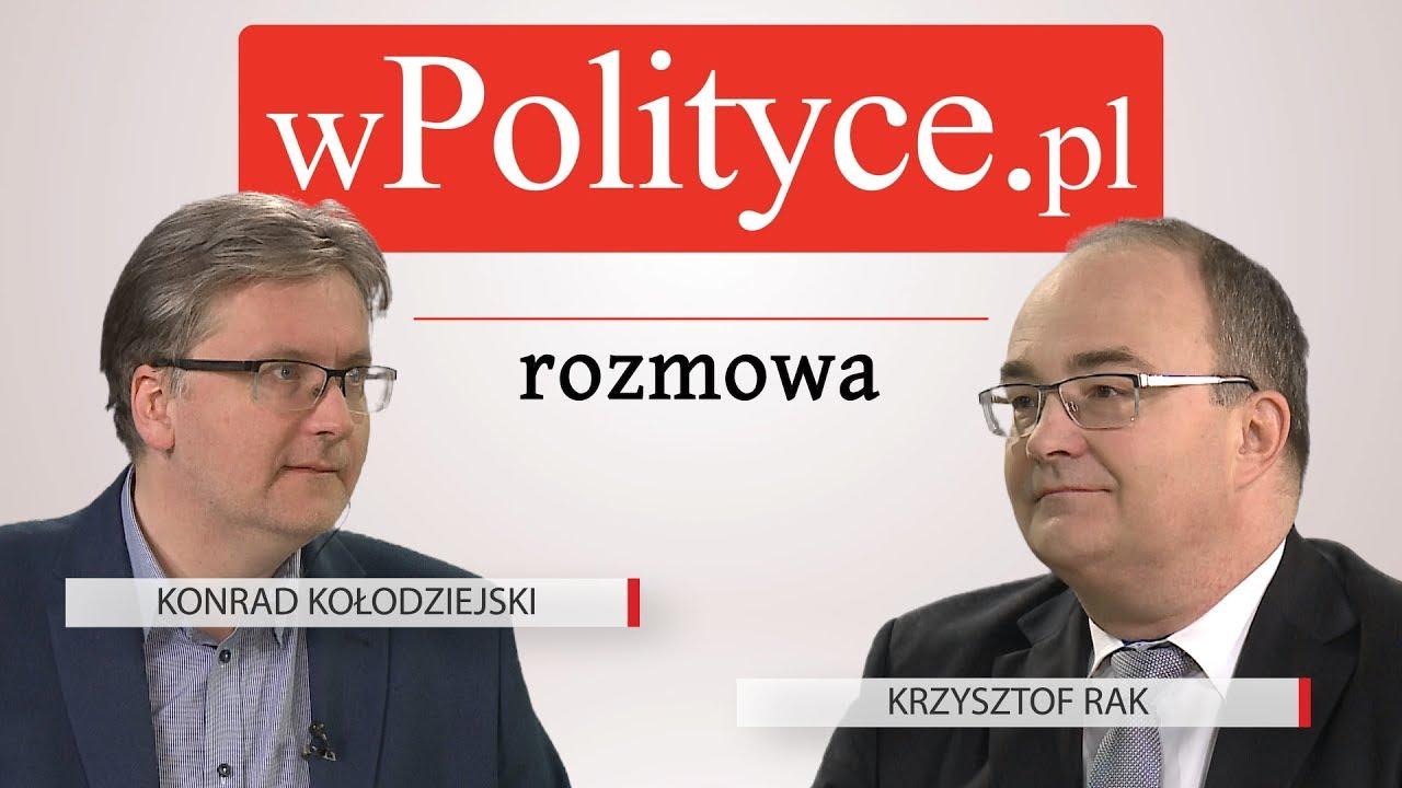 Krzysztof Rak gościem studia wPolityce.pl