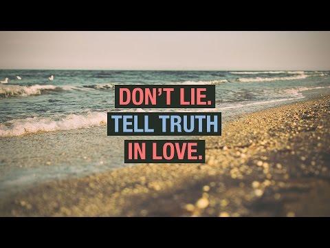 Exodus - Don't Lie: Speak Truth in Love - Peter Tanchi