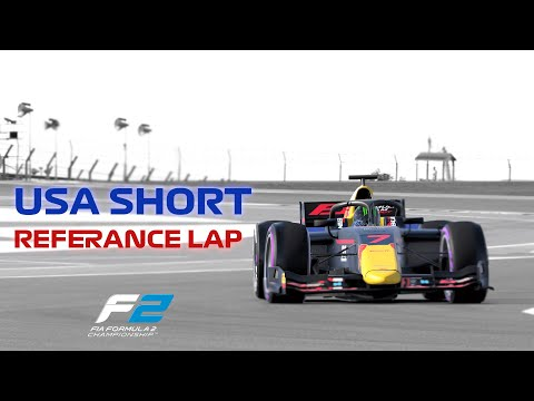 F1 2020 USA Short Reference Lap: F2 (2020) |