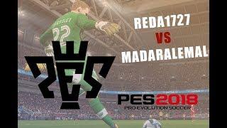 Africa Game Show - PES 2018 - Reda1727 VS Madaralemal