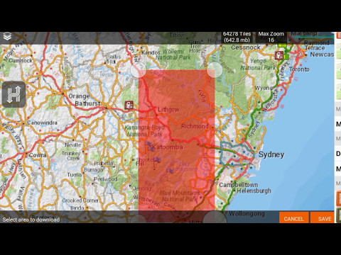 Hema HX-1 Explore:   How to download more detailed maps