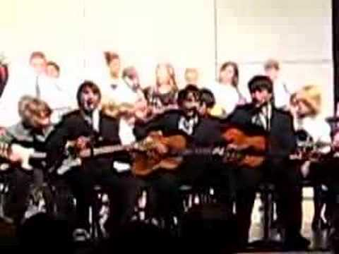 The Orchestra/Guitar Concert at Willow Creek Middle School 1