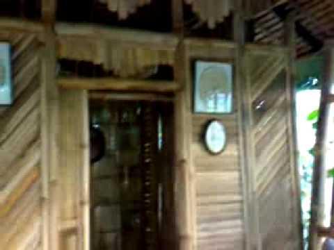 Villa Mateo Bahay Kubo Interior
