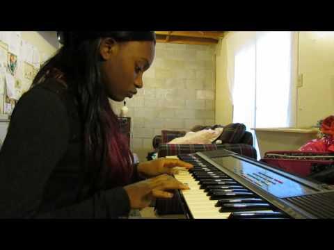 No Looking Back - Damita Haddon Piano Cover by Sierra