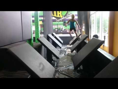 American Ninja Warrior Floating Steps