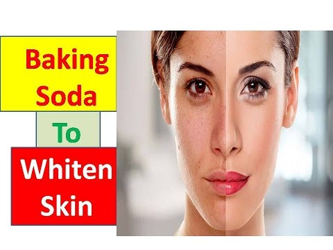 Skin Whitening || How to Use Baking Soda To Whiten Skin