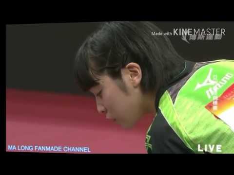 Table Tennis Asian Championships Miu Hirano highlights
