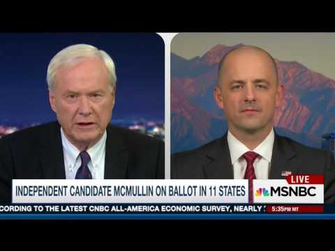Evan McMullin: There