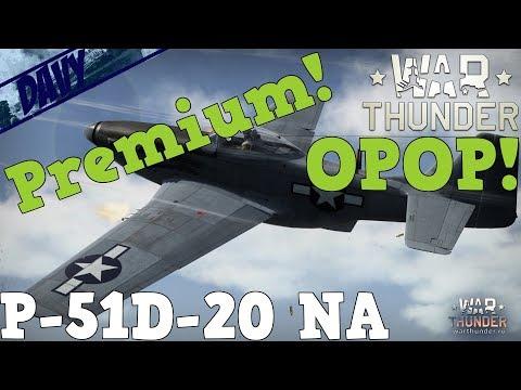 War Thunder Gameplay ITA - P-51D-20 NA - CACCIA PREMIUM AMERICANO