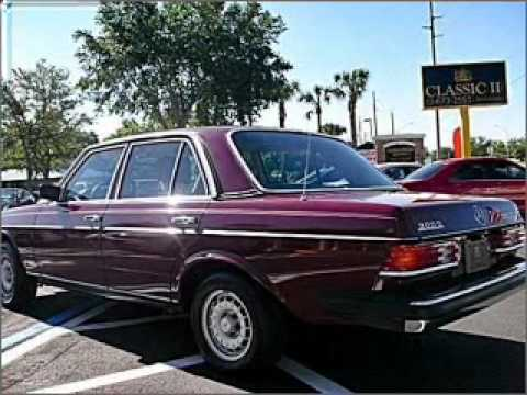 1983 mercedes benz 300 class winter park fl youtube for Mercedes benz winter park