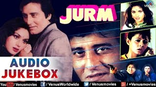 Jurm : Bollywood Hits ~ Audio Jukebox | Vinod Khanna, Meenakshi Sheshadri & Sangeeta Bijlani