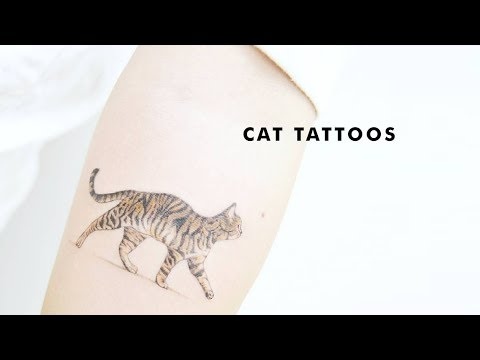 30 Small Cat Tattoos Every Cat Lover Will Adore