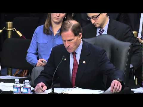 Senator Blumenthal speaking on repealing the Defense of Marriage Act (DOMA)