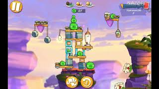 Angry Birds 2 AB2 Mighty Eagle Bootcamp (MEBC) - Season 21 Day 19 (Bubbles + Stella)