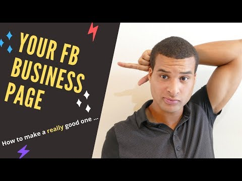 FB Business Page Tutorial : How to make a really good one thumbnail