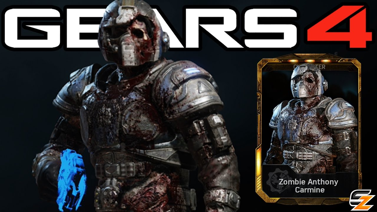 Gears Of War 4 Zombie Anthony Carmine Character