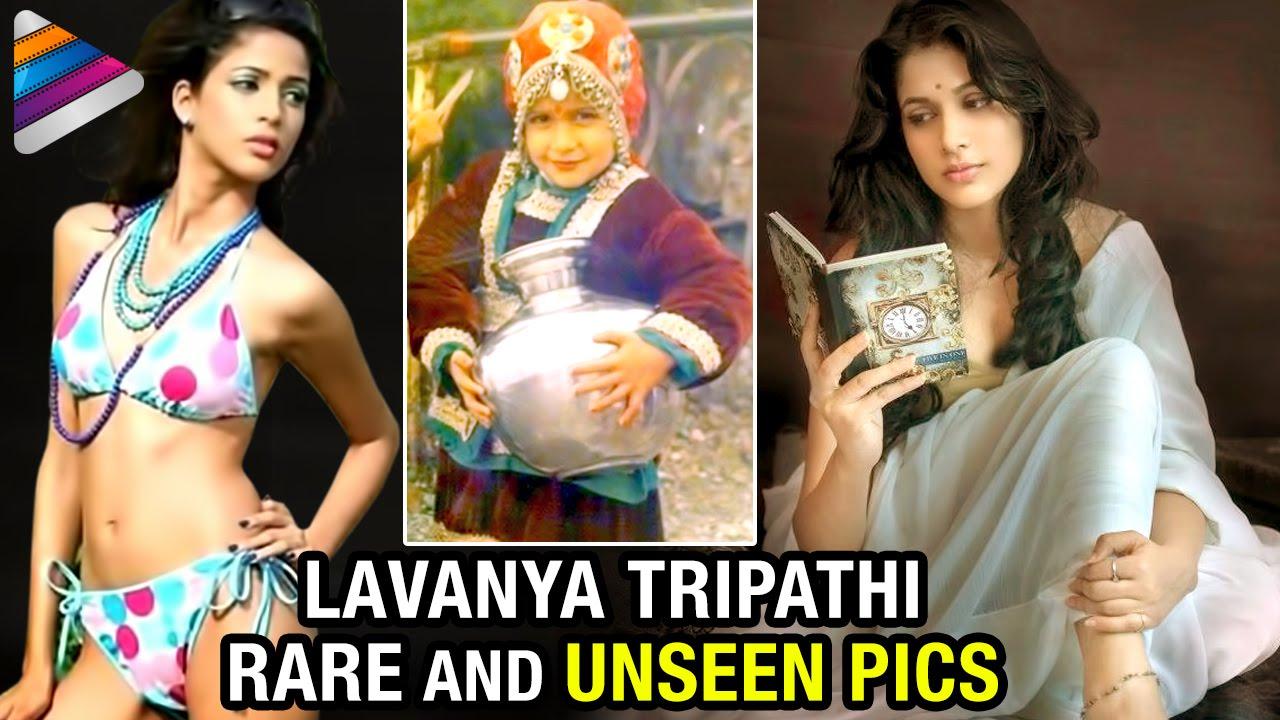 Lavanya Tripathi Rare & Unseen Pics | Childhood Pictures | Indian Actress Photos | Telugu Filmnagar