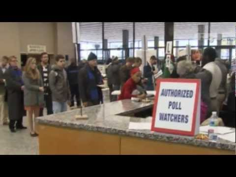 57th US PRESIDENTIAL ELECTION, Washington residents vote US election; Obama RE-ELECTED as PRESIDENT