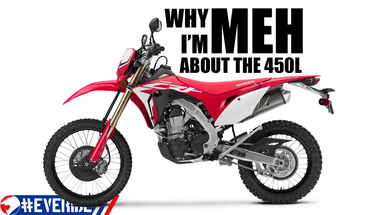 Honda CRF450L – the new DR-Z400? [nope] |