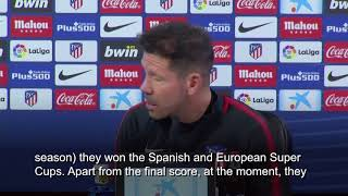 Real Madrid best club in the world, says Atletico boss Diego Simeone