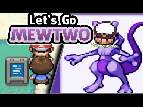 Gba Pokemon Let S Go Mewtwo Completed Pokemoner Com
