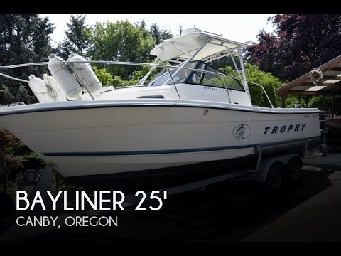 [UNAVAILABLE] Used 1999 Bayliner Trophy 2352 W/A in Canby, Oregon